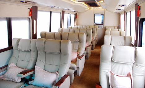 Sewa Bus Mewah Jakarta Weha One