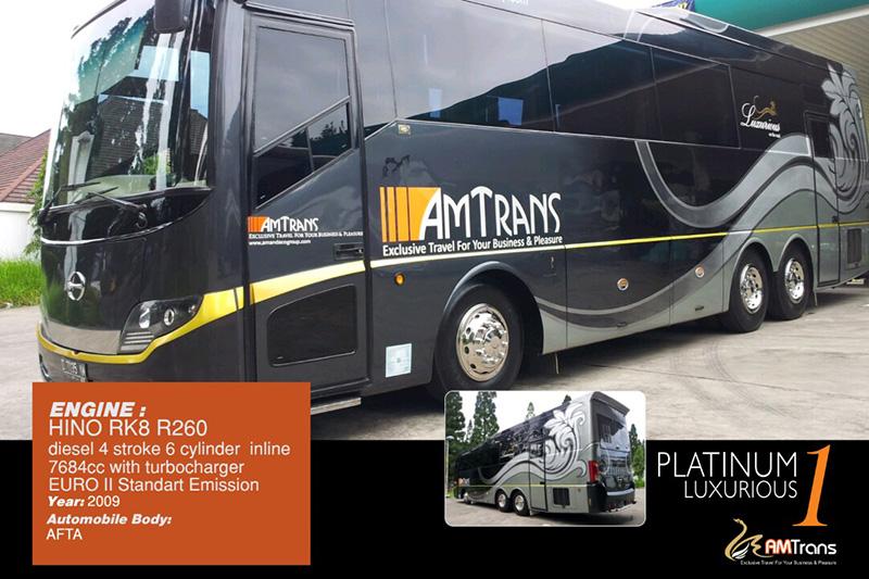 Bus Mewah AM Trans Platinum 1